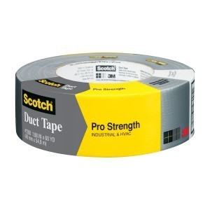 3M 1260-A Pro Strength Duct Tape, 1.88""