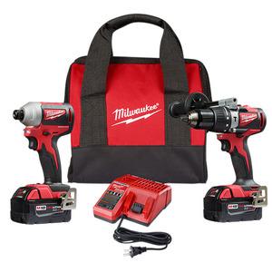 Milwaukee 2892-22CT M18 Brushless 2-Tool Combo Kit
