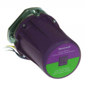 Honeywell C7012E1104 Flame Sensor, Ultraviolet, Purple Peeper, Self-Checking, 120 Volt