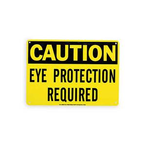 Brady 84530 Eye Protection Sign