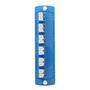 5F100-2LL BLU OPT-X 6 PK LC ADPT PLT 12