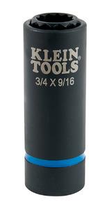 Klein 66001 2-IN-1 IMPACT SOCKET 12-POINT