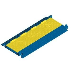Hubbell-Kellems HBLTRED5B 5 Channel TredTrak® Blue & Yellow.