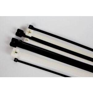 "3M CTSB15BK50-C 15"" BLACK 50 LB STEEL BARB TIE - 100/BAG"