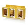 FDBX3-Y YL WETGUAR PVC THREE G FD BOX