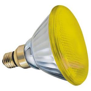 SYLVANIA 100PAR38/FL/Y/RP-120V Incandescent Lamp, PAR38, 100W, 120V, Yellow *** Discontinued ***