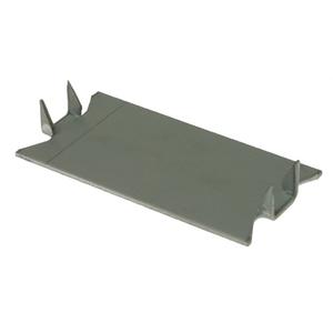 "Metallics NP600 Nail Plate, Steel, 1-1/2"" x 5"""