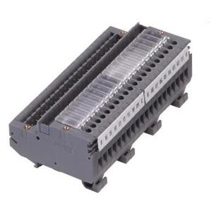 Entrelec 063100521 Connecting Interface, BOM-16-1, 20 Pole, Screw Clamp, DIN Rail Mount