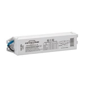 Keystone Technologies KTEB-120-1-TP-EMI/C-DP Electronic Ballast, 1-Lamp, F20T12, 120V, Rapid Start