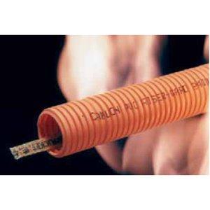 "Carlon DJ4X1C-100 Riser-Gard Corrugated Flexible Conduit w/ Tape, 2"", Orange, 100'"
