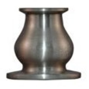 Window Candles B1 Window Candles Candle Base, Brushed Nickel