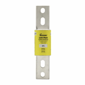 Eaton/Bussmann Series KRP-C-1200SP Fuse, 1200A, Class L, Time-Delay, 600VAC, LOW-PEAK