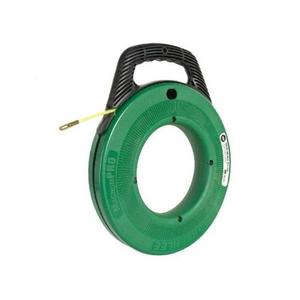 Greenlee FTN536-100 Fish Tape with Winder Case, 100'