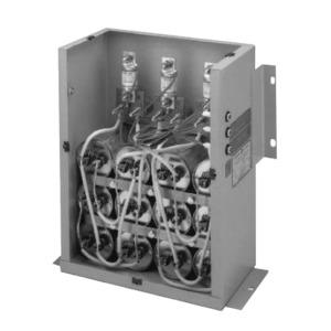 GE 65L809TE1 Capacitor, Fixed Power Factor Correcting, 10kVAR, 480VAC, 3 Fuse