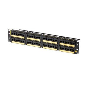 Ortronics PHD6AU48 48PORT CLARTY PANEL CAT6A FLAT
