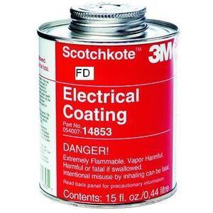 3M SCOTCHKOTE-FD Scotchkote ™ Electrical Coating Fast Drying - 15 Oz. Can