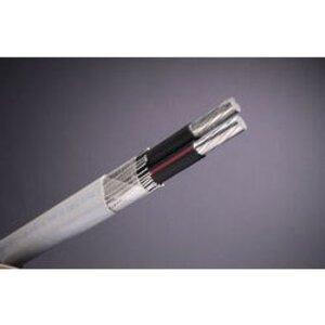 Multiple SEU2/02/02/0500RL Service Entrance Cable, SEU, Aluminum, 2/0-2, 500'