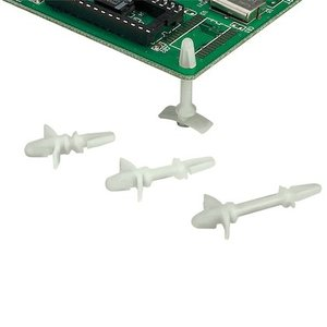 "Panduit CBLS25-C Circuit Board Lock Support,  .25"" (6.4mm"