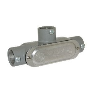 "Bizline BZLCOT3CG Conduit Body, Type: T, 1"", Form 5, Aluminum"
