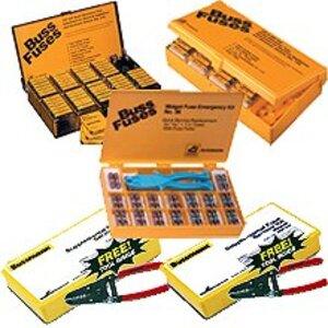 Eaton/Bussmann Series GSK-260 Fuse, Service Kit, Glass Fuse, 265 Fuses, Puller, Stripper, Case