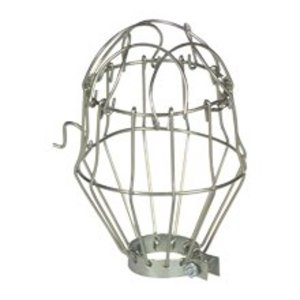 "Eaton Arrow Hart 469B-BOX Lamp Guard, Wire Type, Metal, 1-1/2"" Collar"