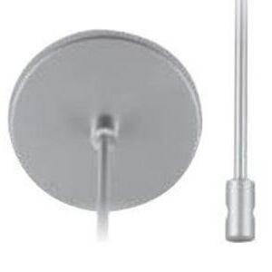 "Lightolier FXS84 Suspension Stem Kit, 18"", Silver Finish"