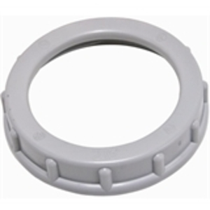 "Hubbell-Raco 1405 Conduit Bushing, 1-1/4"", Threaded, Impact Resistant, Polypropylene"