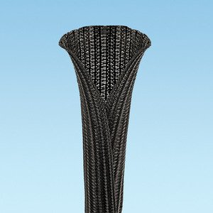 "Panduit SE100PS-CR0 Pan-Wrap Braided Sleeving, 1"" Dia., 100f"