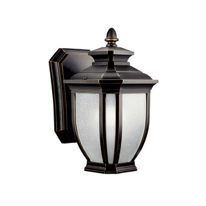 Kichler 11001RZ OUTDOOR WALL LANTERN 1LT FLUOR *** Discontinued ***