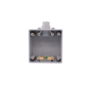 """FSU2101520 2G BOX 1 HOLE 1"""",3/4"""",1/2"""""""