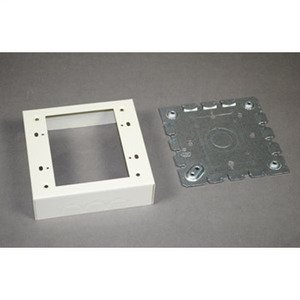 Wiremold 5747-2 2G SHALLOW SW & RCPT