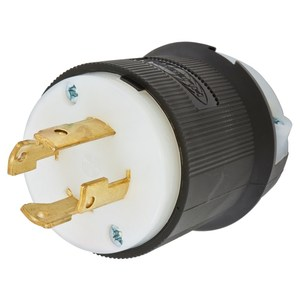 Hubbell-Kellems HBL2731 Locking Plug, 30A, 480V, L16-30P