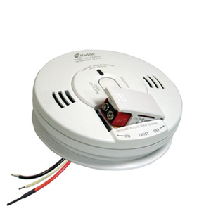 Kidde Fire 21010333 Smoke & Carbon Monoxide Alarm, Battery Backup