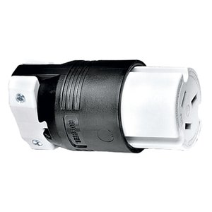 Hubbell-Kellems HBL7515C Connector, 50A, 125/250V, Nylon, 10-50