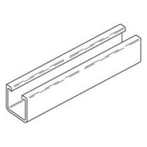 Eaton B-Line BFP22-120 1 5/8-IN. X 1 5/8-IN. FIBERGLASS CHANNEL, 120-IN. (10 FT), POLYESTER RESIN