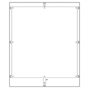 Eaton B-Line AF9072P FREE-STANDING PANEL