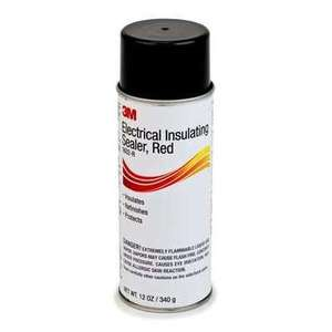 3M 1602-R Electrical-Grade, Fast-Drying Sealer, Red, 16oz Spray Can