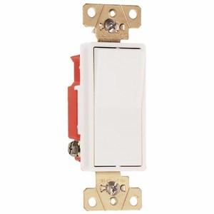 Pass & Seymour 2621-W Decora, 20 Amp, 120/277 Volt, White