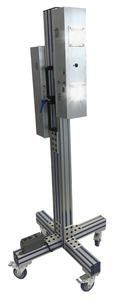 PURO Lighting S-M4-C-15-P-110 UV Light Engine, 2-Dual, Mobile, Tripod Stand, 15' Plug