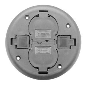 Hubbell-Wiring Kellems PT2X2CGY FRPT, 2X2, REP CVR, GY