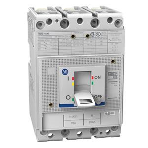 Allen-Bradley 140G-H2C3-C30 Circuit Breaker, Molded Case, Frame G, 30A, 3P, 600V