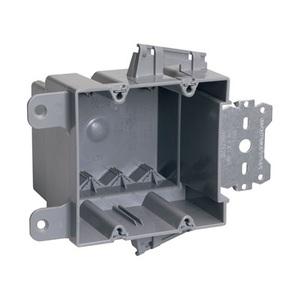 Pass & Seymour S2-35-S50AC PL BX 2G 35 CU IN W/QC OFFSET BRKT