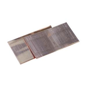 "nVent Erico B140A Copper Shim, Dimensions: 0.13"" x 3"" x 1.5""."