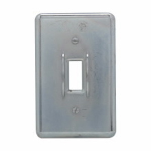Cooper Crouse-Hinds DS52 Switch Cover, 1-Toggle, 1-Gang, Steel, For Device Box