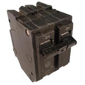 GE Industrial THQL2190 Breaker, 90A, 2P, 120/240V, 10 kAIC, Q-Line Series
