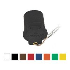 Leviton 16P22-UY Protective Cap, Female, 16 Series Taper Nose, Yellow
