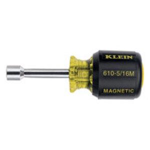 """Klein 610-5/16M 5/16"""" Mag Nut Driver 1-1/2"""" Shaft"""