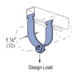 Unistrut P1115-SS Strut Strap, Size: 1-1/2 Inch