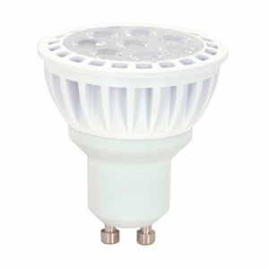 Satco S9096 LED Lamp, Dimmable, MR16, 7W, 120V, FL40 *** Discontinued ***