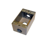 D5633 3 HOLE RECT BOX 3/4IN